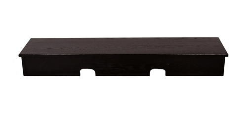 X-Large Smooth Top Sound Bar Black TV Riser
